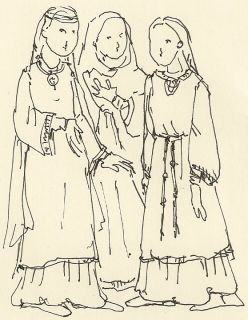 Escot piger overtro i middelalderen